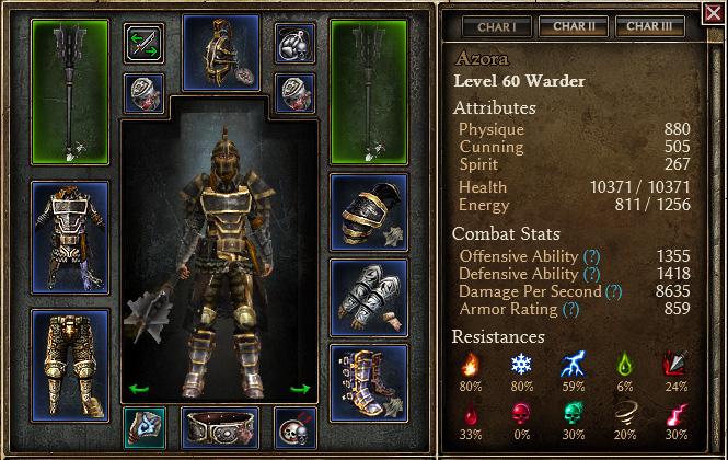 B28] Baseline 2H Warder Build - Grim Dawn Forums